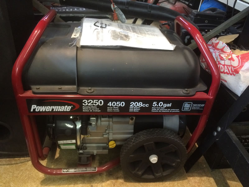 Powermate Model 3250 Generator | Gelman Loan and Pawn Shop
